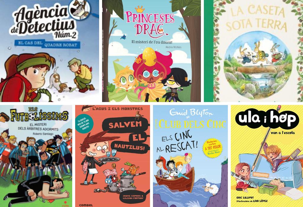 Llibres que enganxen! Recomanacions de lectura per 6 - 12 anys